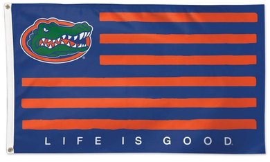 Florida Gators Life is Good Sports Banner Flag 3*5ft