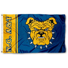 Load image into Gallery viewer, North Carolina A&T Aggies Flag 3ftx5ft