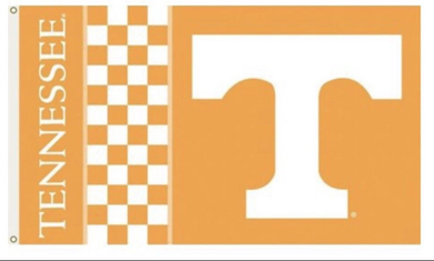 Tennessee Volunteers Checkerboard Banner Flag 3*5ft