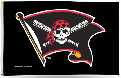 Pittsburgh Pirates Jolly Roger Banner flag 90x150cm