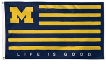 Load image into Gallery viewer, Michigan Wolverines  Life is Good Flag 90*150 CM
