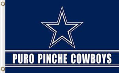 3x5ft Dallas Cowboys Puro Pinche team flags