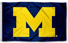 Load image into Gallery viewer, Michigan Wolverines Banner Flag 90*150 CM