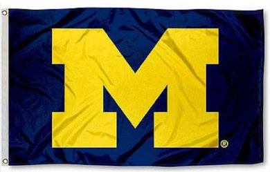 Michigan Wolverines Banner Flag 90*150 CM