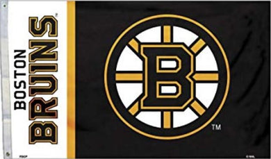 Boston Bruins Flag with Grommetts 3x5 ft