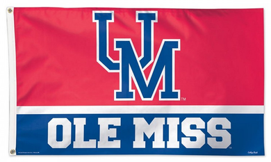 Mississippi Rebels Throwback Vintage Flag 3x5ft