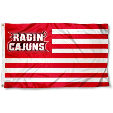 Louisiana Lafayette Ragin' Cajuns Hand Flag 3*5ft