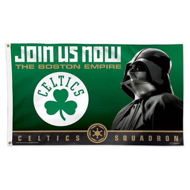 Boston Celtics Star Wars Darth Vader Flag
