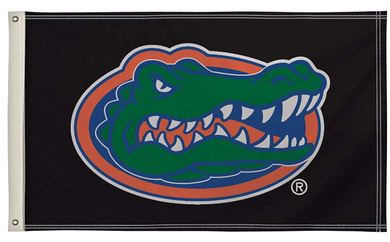 Florida Gators Black Basketball Banner Flag 3*5ft