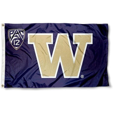 Washington Huskies sports team flag 3x5FT