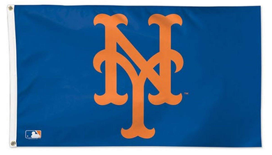 New York Mets Logo Banner flag 3ftx5ft