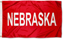 Load image into Gallery viewer, Nebraska Cornhuskers Large Flag 90*150 CM