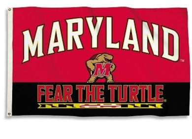 Maryland Terrapins Fear The Furtle Flag 3*5ft