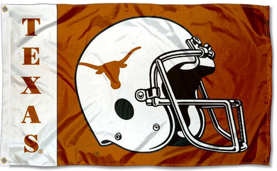 Texas Longhorns  Football Helmet Flag 3x5FT