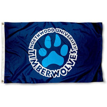 Load image into Gallery viewer, Northwood Timberwolves Flag 3x5 ft