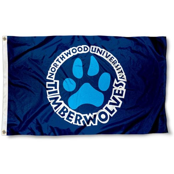 Northwood Timberwolves Flag 3x5 ft