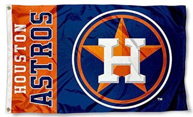 Houston Astros Baseball Banner flags 3ftx5ft