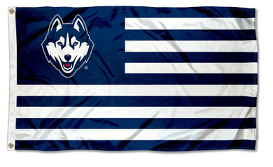 Connecticut Huskies Stars and Stripes Nation Flag 3*5ft