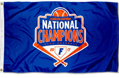 Florida Gators 2017 College Baseball National Banner Flag 3*5ft