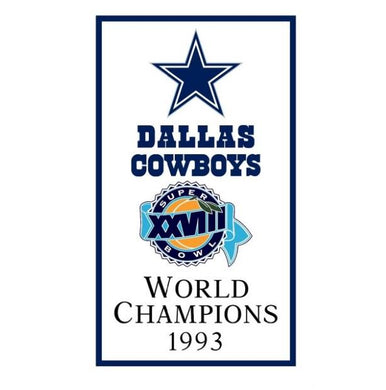 Dallas Cowboys World Champions 1993 FLAG 90x150cm