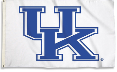 Kentucky Wildcats White Banner Flag 3*5ft