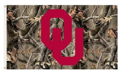 Oklahoma Sooners Realtree Camo Sports Flags 3*5ft