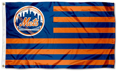 New York Mets Nation Banner flag 3ftx5ft