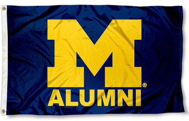 Michigan Wolverines Alumnii Banner Flag 3x5ft
