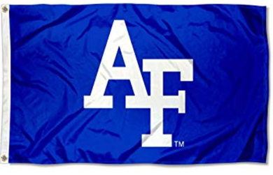 Air Force Falcons AF Logo Flag 3ftx5ft