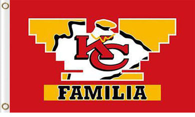 Kansas City Chiefs Familia flag 3x5FT