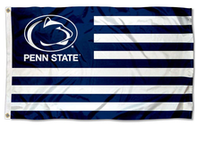 Load image into Gallery viewer, Penn State Nittany Lion Stars and Stripes Nation Banner Flag 3*5ft