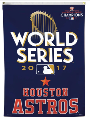 Houston Astros 2017 Champions Banner Team Flag 3x5ft