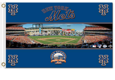 New York Mets World Series Champions Super Team Banner flag 3x5ft