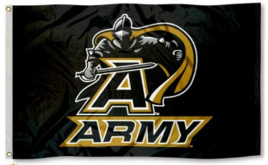 Army Black Knights Logo Banner Flag 3*5ft
