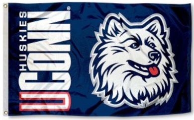 Connecticut Huskies Stport Banner Flag 3*5ft