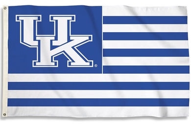 Kentucky Wildcats Royal Stripes Banner Flag 3*5ft