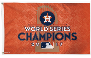 Houston Astros 2017 World Series Champs Team Flag 3x5ft