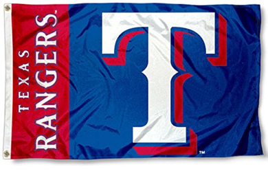 Texas Rangers Sport Flag 3x5ft