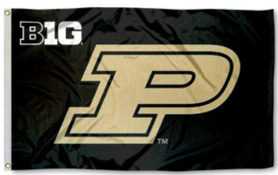 Purdue Boilermakers Big 10 Banner Flag 3*5ft