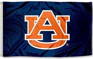 Auburn Tigers War Eagle Logo Banner Flag 3*5ft