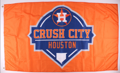 Houston Astros Crush City Team Flag 3x5ft
