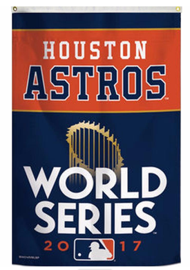 Houston Astros World Series 2017 Champions flags 3ftx5ft