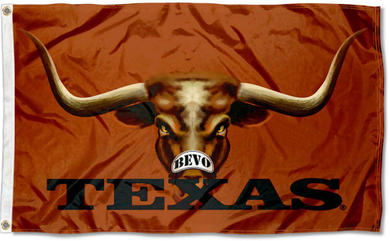 Texas Longhorns Bevo Eyes Flag 3x5FT