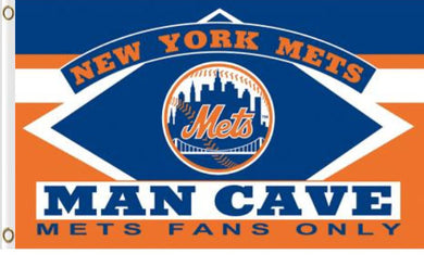 New York Mets Man Cave Flag 3x 5FT Flag