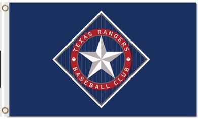 Texas Rangers Baseball Banner Flag 3x5ft