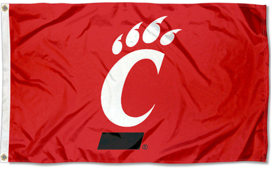 Cincinnati Bearcats Red Banner Flag 3*5ft
