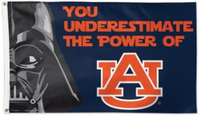 Auburn Tigers Star Wars Banner Flag 3*5ft