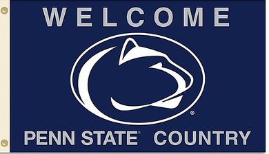 Penn State Nittany Lion Welcome Country Banner Flag 3*5ft