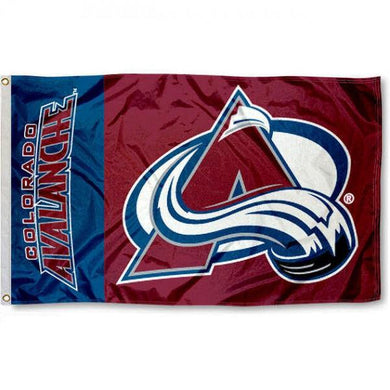 Colorado Avalanche flags 90x150cm 100D
