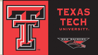 Texas Tech Red Raiders University Flag 3ft*5ft
